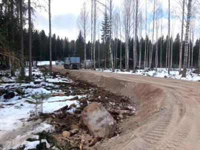 Metsätien rakentaminen