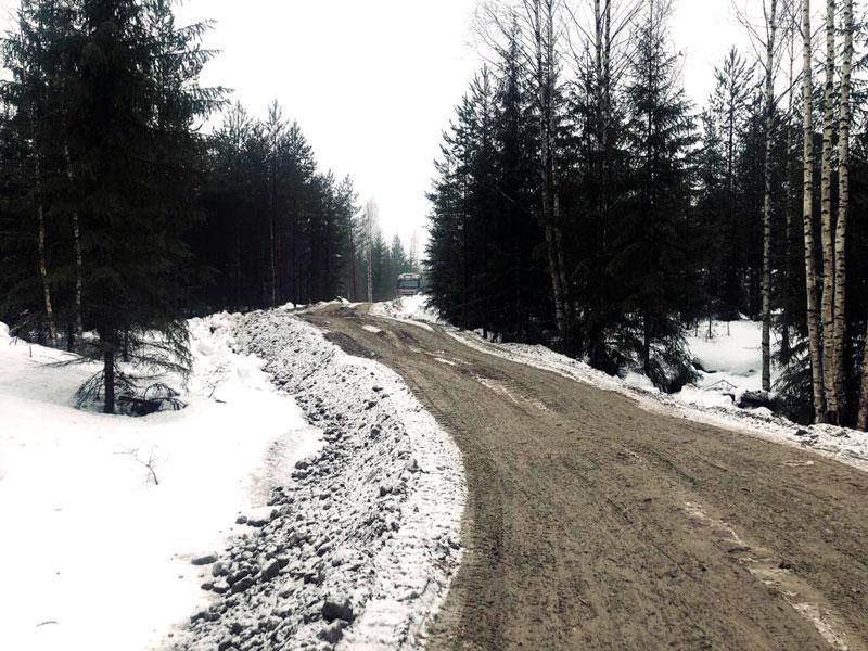 Metsäautotien rakentaminen Mäntsälä
